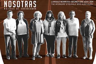Cartel del documental Nosotras, mujeres de Euskalduna