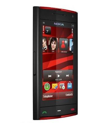Nokia X6 16 GB Produk Nokia Pertama di Tahun 2010