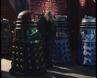 Curse of Fatal Death Silver Dalek