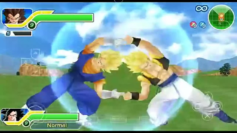 Gogeta And Vegito Fusion Gogito DBZ TTT MOD PSP ISO Download