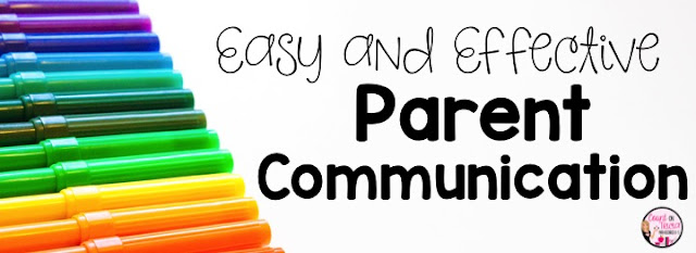 Easy and Effective Ways to Communicate with parents and families. Here are five different tips for easy and effective ways to communicate with parents and families. Click through to see how you can bring reading and math skills home for parents to reinforce. Help parents better understand and prepare their students for test prep, and get a few other ideas to keep lines of communication open. These are great ideas for the Kindergarten, 1st, 2nd, 3rd, or 4th grade classroom. Click through for all the details! {K, first, second, third, fourth graders}
