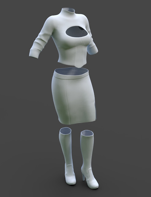 Alloy Fusion Outfit for Genesis 3 Female