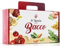 Logo A tavola con Bacco : vinci gratis box con prodotti al Pistacchio