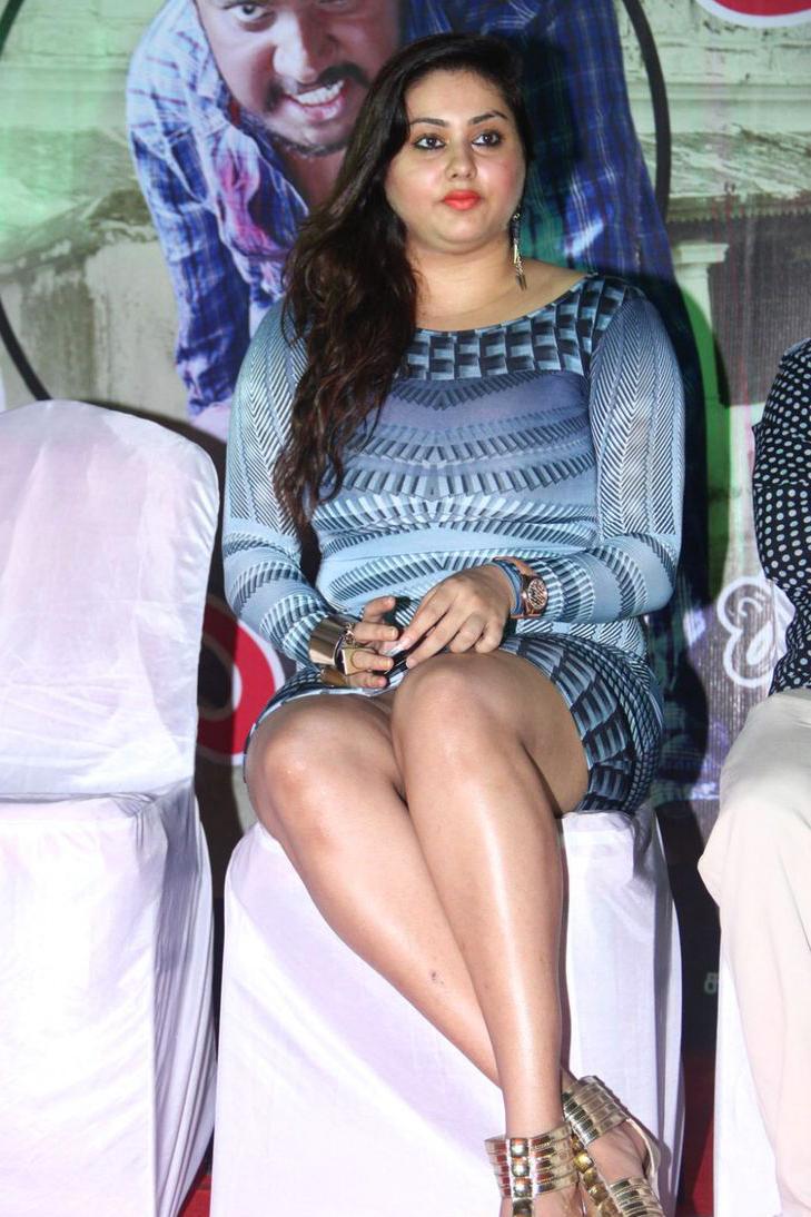 Namitha At Anjal Thurai Audio Launch