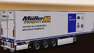 Muller Fresh Food Logistics trailers