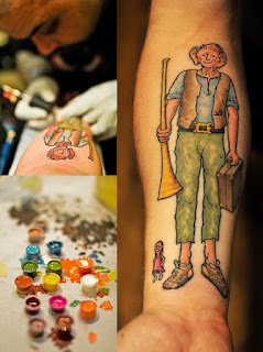 10 Roald Dahl Tattoos - Literary Tattoos Series