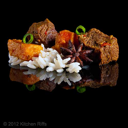 Red-Braised Beef with Sweet Potatoes