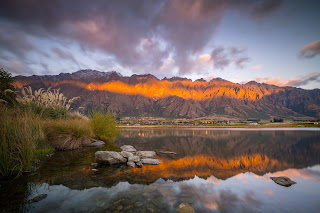 Remarkables, Sunset, Jacks Point, Lagoon, Queenstown
