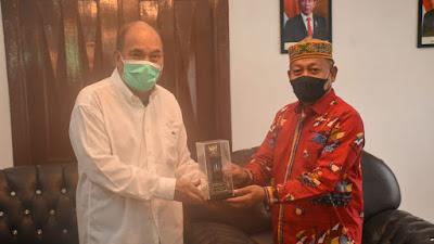 Wali Kota Tebingtinggi Terima Kunjungan Plt Wali Kota Tanjung Balai