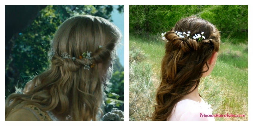 Disney Princess Aurora Hair Tutorial From Maleficent