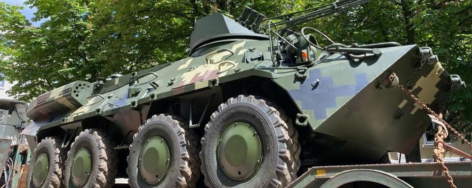 КБТЗ поставив перше шасі БТР-3КШ для нових КШМ