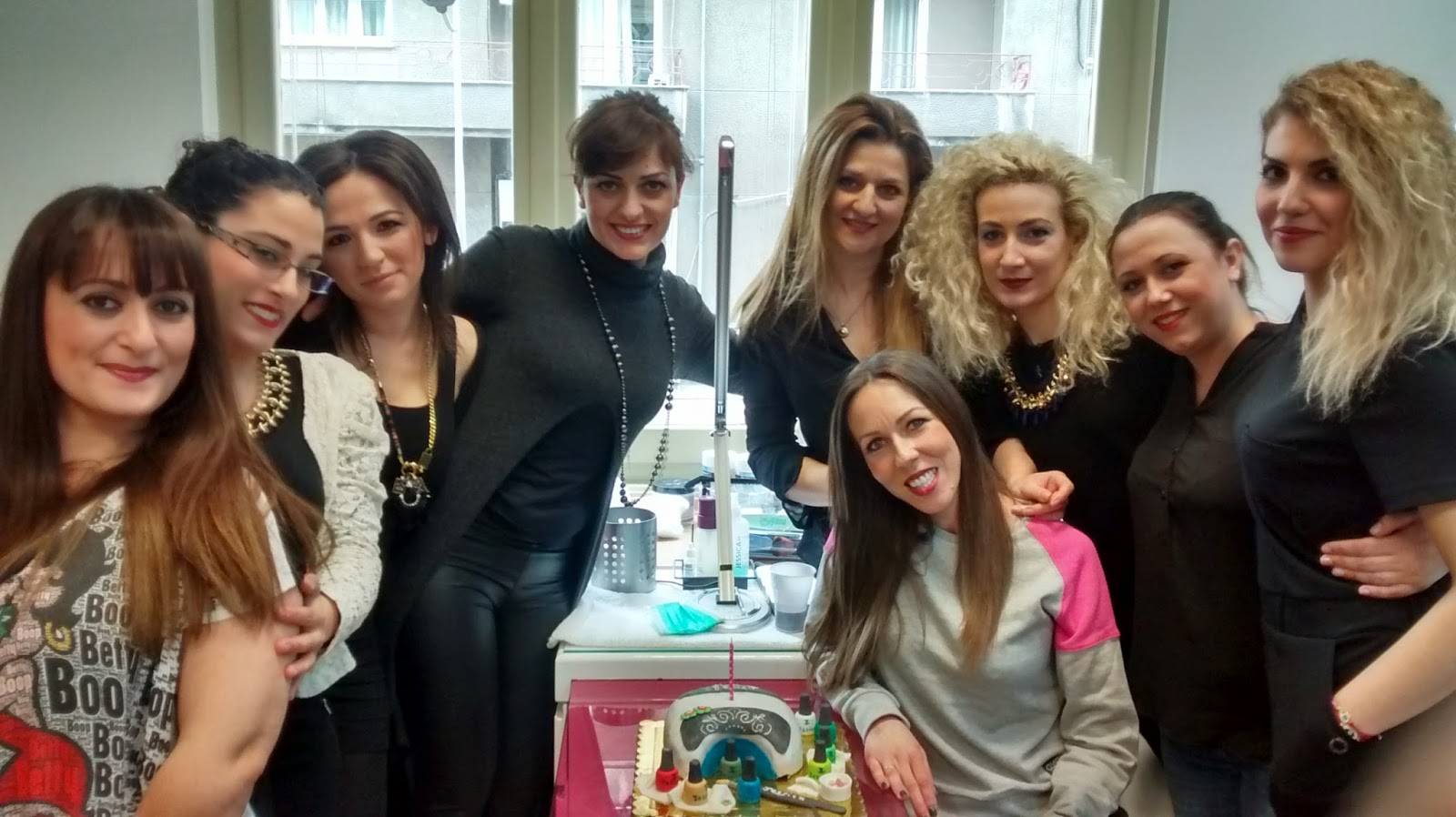 Manicure cake!!!