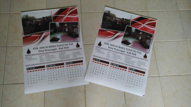 Kalender Dinding STM