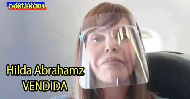 POR LA PLATA   Hilda Abrahamz haciéndole buena publicidad a las aerolíneas del Régimen de Maduro