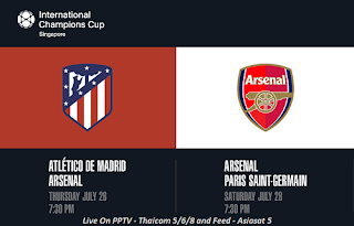 Match Schedule International Champions Cup Football 2018