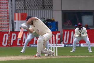 Eng vs wi 2nd test match day 2