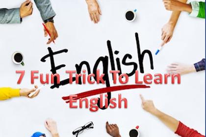 7 Fun Trick To Learn English