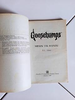 1 Goosebumps Mesin Tik Hantu by R.L. Stine