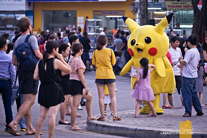 Hanoi Walking Street Pikachu