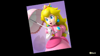 new picture of Peach, looks very modernized