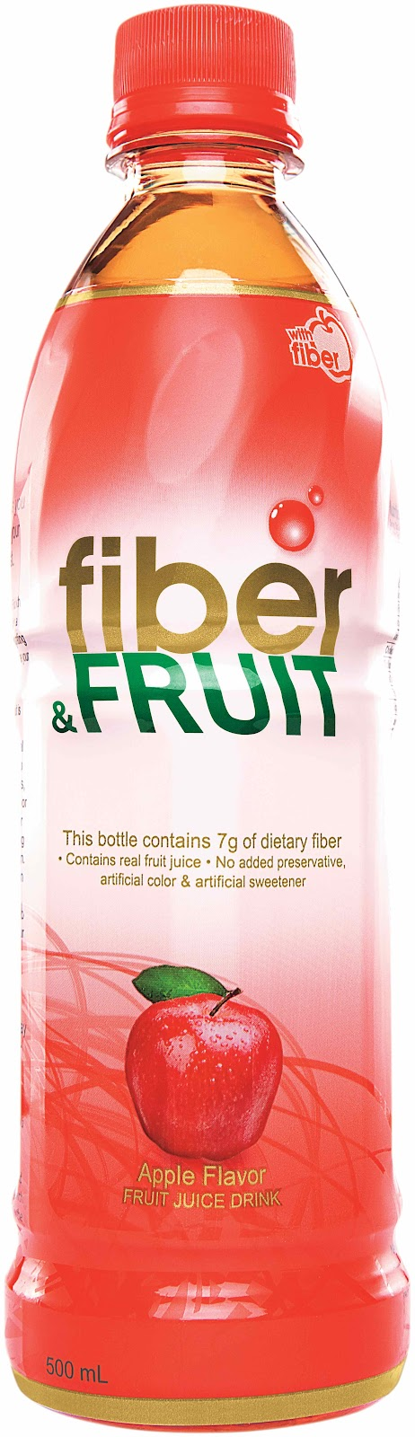 Does an apple have fiber