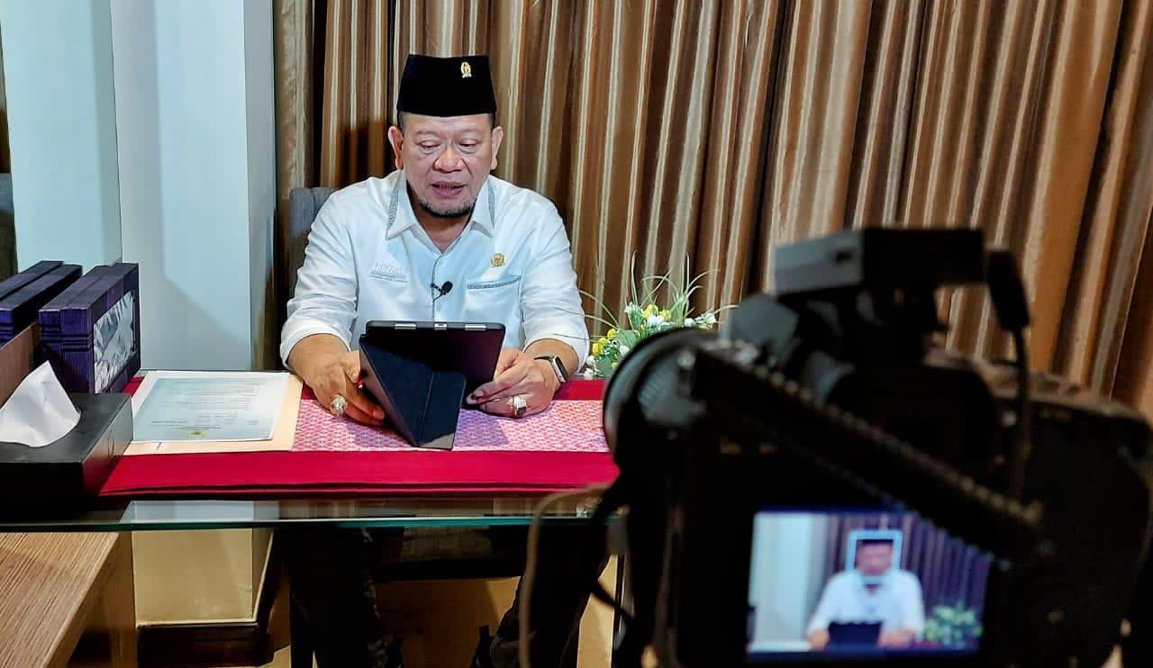 Ketua DPD RI Hadiri Haul Bani Shiddiq secara Virtual