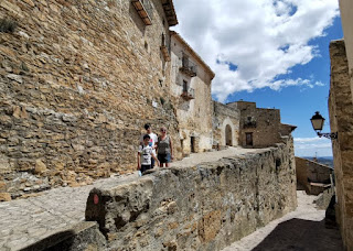 Casco antiguo de Culla, provincia de Castellón.