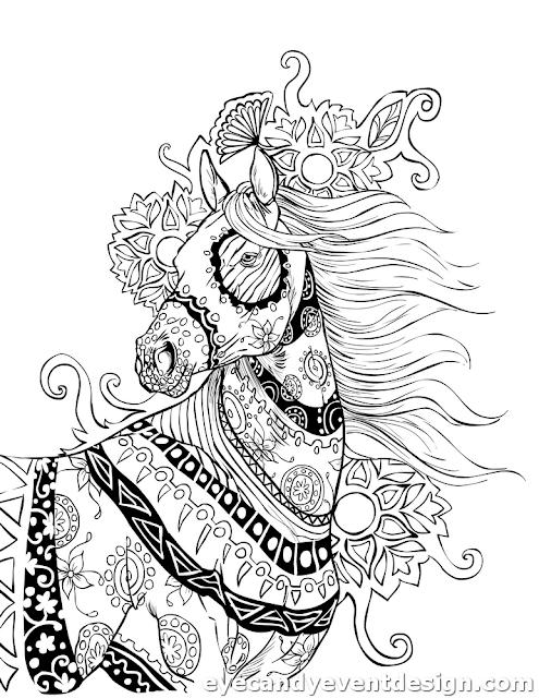 Zum Ausdrucken Ausmalbilder Pferde Mit Fohlen
