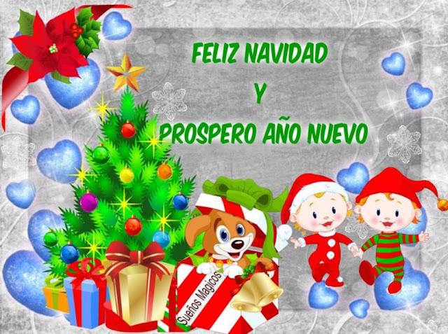 Imágenes de Navidad y Año Nuevo 2018 para Felicitar