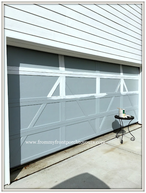 Garage Door Makeover-Detached Garage-Paint-Farmhouse-From My Front Porch To Yours