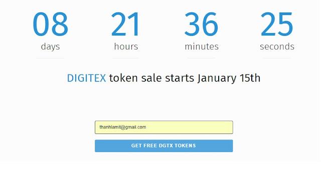 Dự án Digitex Futures DGTX - Miễn Phí 1000 DGTX Trị Giá 10$