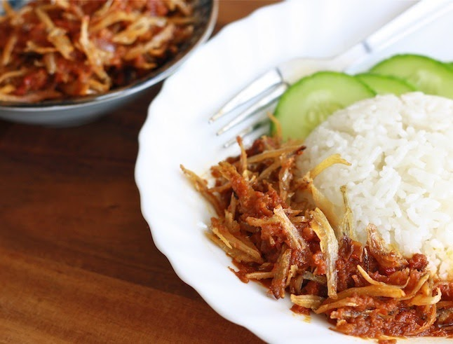 Nasi Lemak Recipe (Part 3) - Sambal Ikan Bilis | Season with Spice
