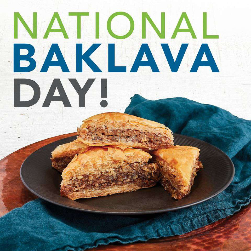 National Baklava Day Wishes Images download