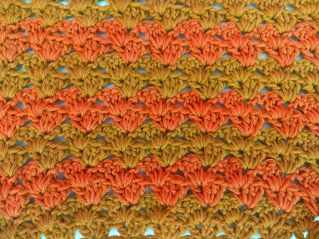2 - Crochet Imagen Puntada a crochet a facil sencillo bareta paso a paso DIY puntada punto alto punto bajo