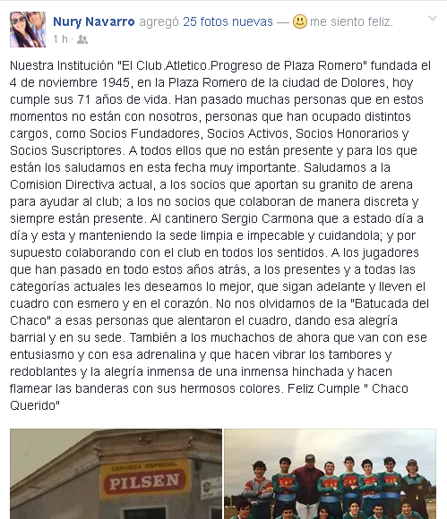 club progreso dolores
