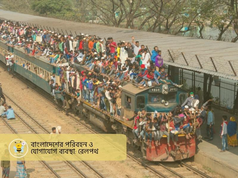 বাংলাদেশের পরিবহন ও যোগাযোগ ব্যবস্থা: রেলপথ