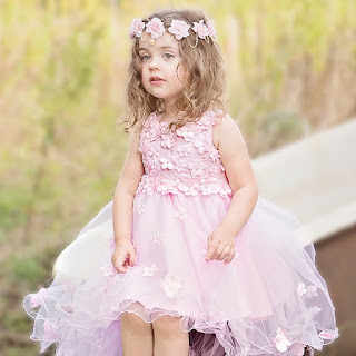 Pink Flower Girl Wedding Dresses