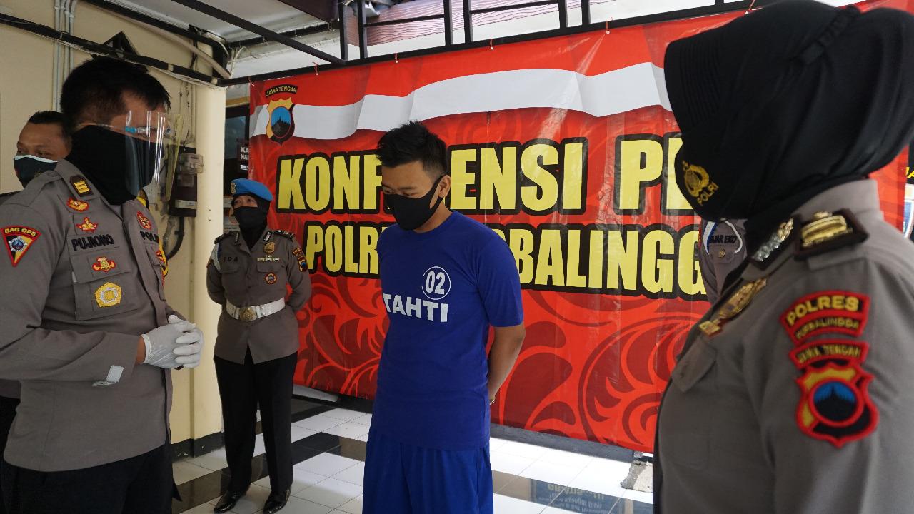 Sempat Kabur Ke Wonosobo, Pelaku Pencurian di Klenteng Hok Tek Bio Purbalingga Diringkus Polisi