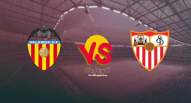نتيجة مباراة اشبيلية وفالنسيا اليوم 22 سبتمبر 2021 في الدوري الاسباني