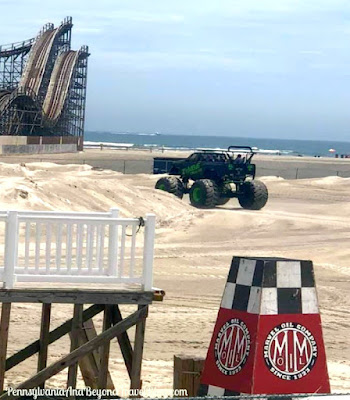 Monster Truck Rides on the Beach in Wildwood, New Jersey