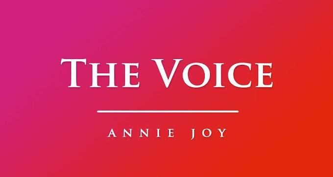 Annie~Joy writes: The Voice. #BeInspired!