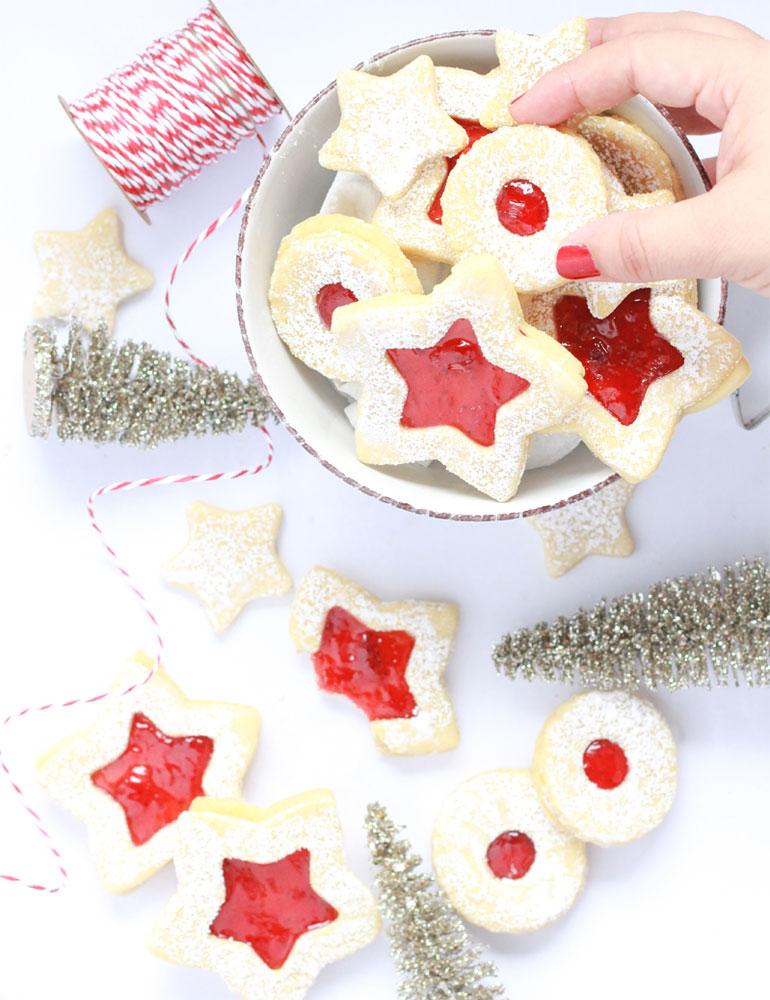 Receta para las mejores galletas de mermelada