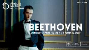 Sinfónica Nacional | BEETHOVEN Piano No. 5 EMPERADOR