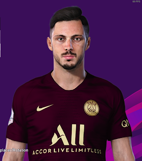 PES 2020 Faces Pablo Sarabia by Milwalt