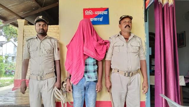 मधवापुर पुलिस ने अपहरण के आरोपी को भेजा जेल