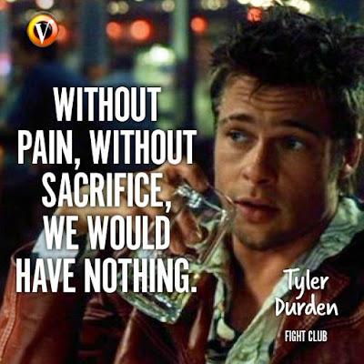 Fight Club best quotes Brad Pitt