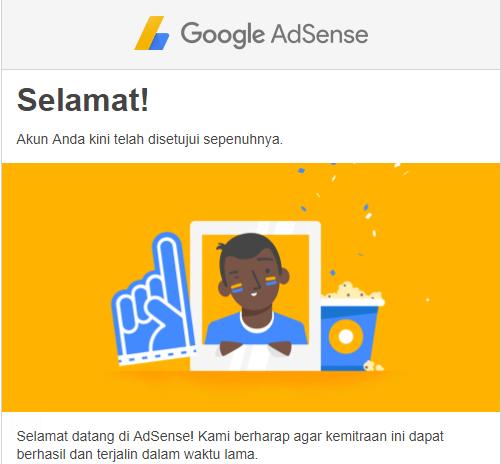 Tips Diterima oleh Google Adsense
