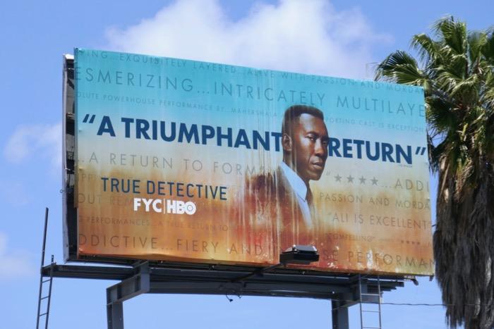 True Detective season 3 Emmy FYC billboard
