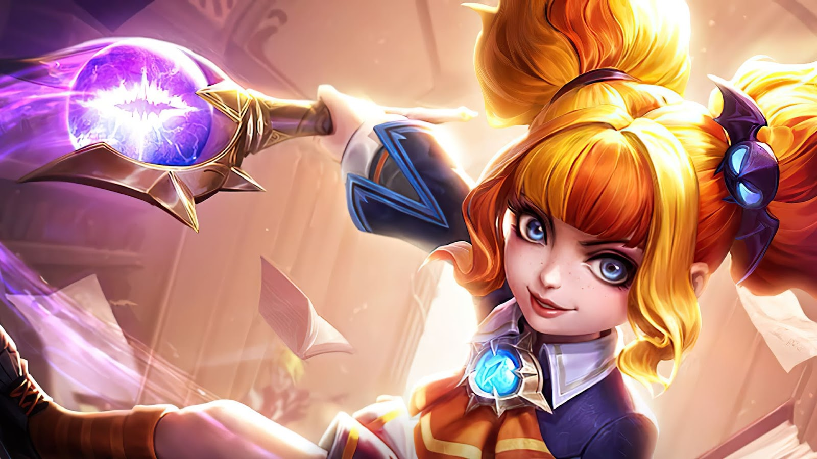 Wallpaper Lylia Star Student Skin Mobile Legends HD for PC