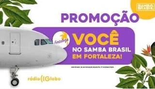 Cadastrar Promoção Rádio Globo Ingressos Samba Brasil Fortaleza 2019